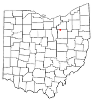Location of Burbank, Ohio