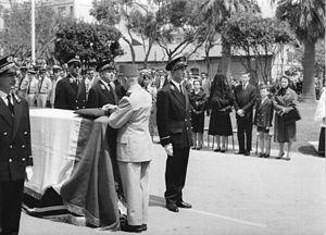 Roger Gavoury - Funeral of Roger Gavoury 3 June 1961, Algeria
