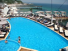 Odessa Arcadia Plaza Beach Sea Water Sweaming Pool.JPG