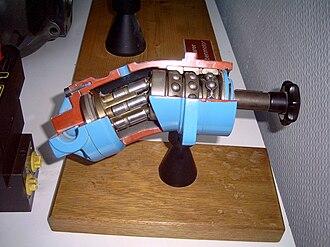 Axial piston pump - Axial piston pump