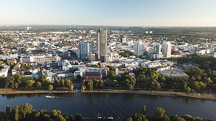 Offenbach am Main Offenbach am main from drone.jpg