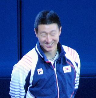 Oh Sang-eun South Korean table tennis player