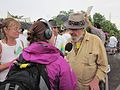 Oil Flood Protest Dr John interview 2.JPG