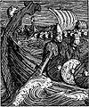 Olav den helliges saga - Olav og Rane i viking - H. Egedius.jpg