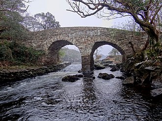 Killarney National Park - Old Weir Bridge – One of many sights in the park.