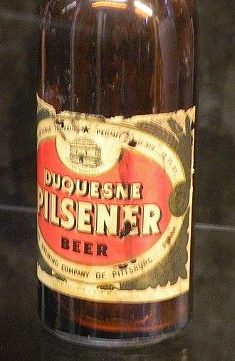Duquesne Brewing Company - Image: Old Duquesne Pilsener Bottle