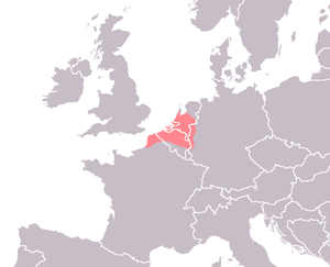 Old Dutch - Area in which Old Dutch was spoken.