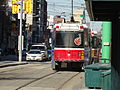 Old CLRVs head north on Spadina Avenue, 2014 12 20 -a (15452474543).jpg