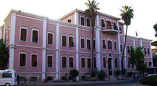 Seyhan District in Mediterranean, Turkey