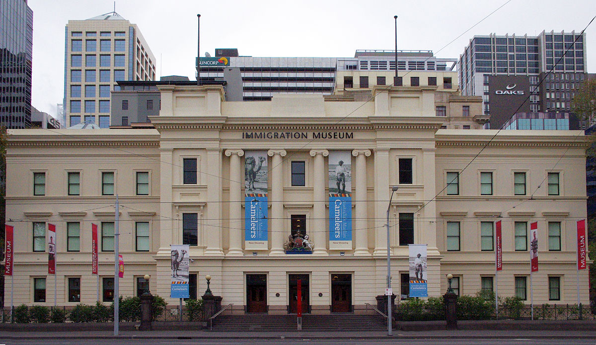 Image result for immigration museum melbourne