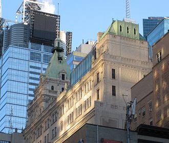 229 West 43rd Street - Upper floors of building (December 2009)