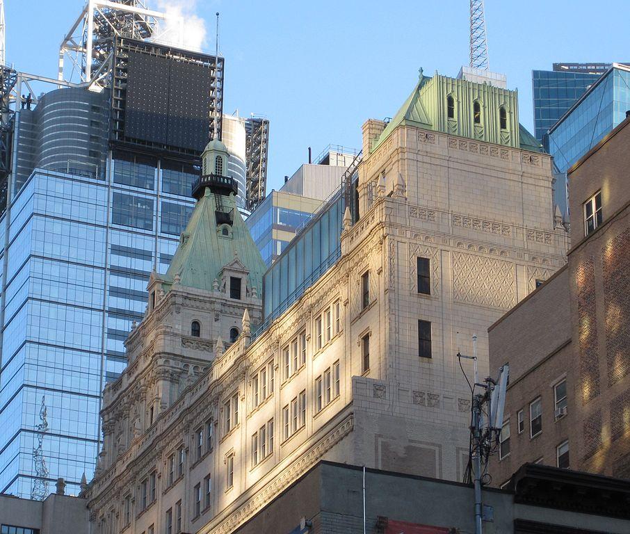 229 West 43rd Street, sede de la publicación The New York Times, entre 1913 y 2007.