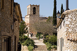 Olivella and its church