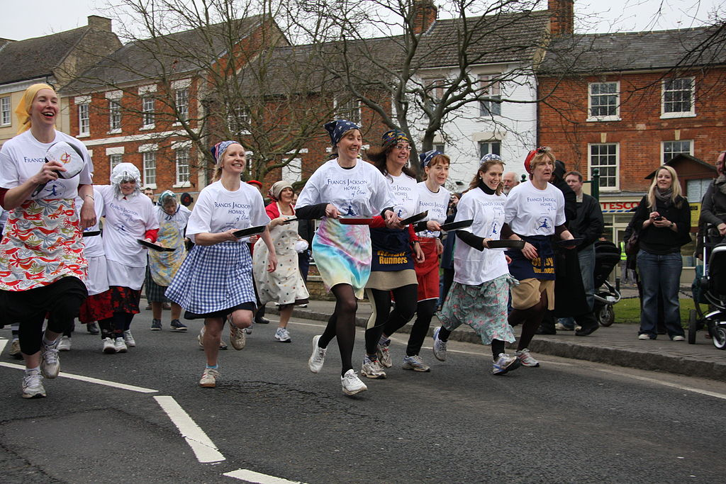 Olney Pancake Race 2009