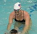 Olympian Allison Schmitt teaches kids to swim (34043300833) (cropped).jpg