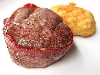 Beefsteak - Filet Mignon wrapped in bacon