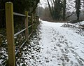 One of the paths through Oare Gunpowder Works Country Park - geograph.org.uk - 1144256.jpg