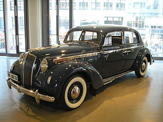 Opel Admiral - An Opel Admiral in Berlin - year of manufacture: 1938