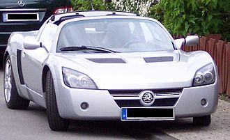 Opel Speedster - Image: Opel Speedster silver f