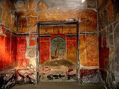 cuales hay unos cuadros de paisajes y figuras humanas junto con otros de grandes dimensiones copiados de originales griegos