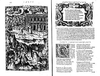 Orlando Furioso - Page from 1565 edition of Orlando Furioso by Francesco Franceschi