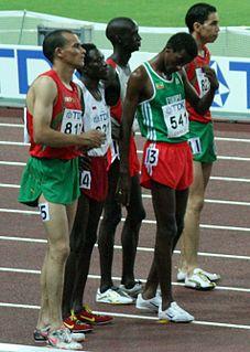 Abubaker Ali Kamal Qatari steeplechase runner