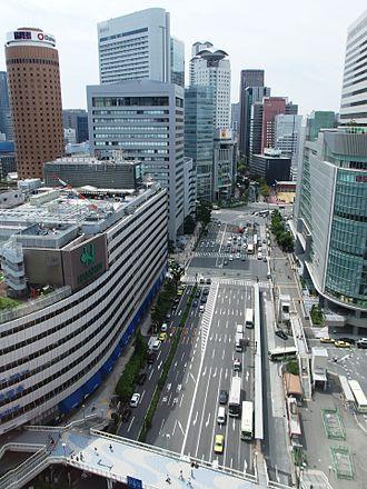 Kita-ku, Osaka - South of Osaka Station in Umeda