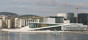 Monica Bonvicini - Image: Oslo Opera She Lies