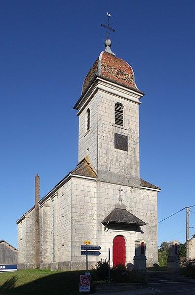 Église d'Osse (Doubs).