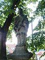 Ostrov u Macochy, socha sv. Jana Nepomuckého.JPG