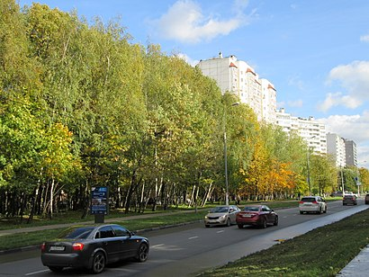 How to get to Улица Островитянова with public transit - About the place