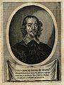 Otto von Guericke. Line engraving. Wellcome V0002445.jpg