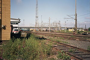 Oulu railway station - Image: Oulu rail yard July 2008 004