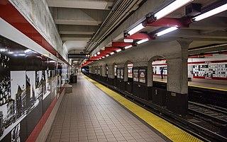 Kendall/MIT station Boston MBTA subway station