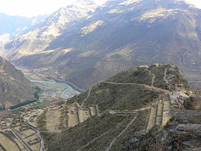 Overview of Inca Site at Pisac.JPG