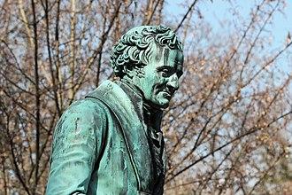 Vivant Denon - Vivant Denon's funerary monument by Pierre Cartellier at Père Lachaise Cemetery, Paris