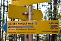 Pörtschach Bannwaldweg 8 Kaiser Arnulf Weg Wegweiser 01112014 7428.jpg