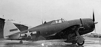 108th Operations Group - Republic P-47D Thunderbolt AAF Serial No. 42-75332.