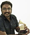 P.A.Deepak with his Grammy Award.jpg