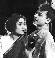 P.C. Barua and Chandrabati Devi - Bengali version of Devdas (1935).jpg