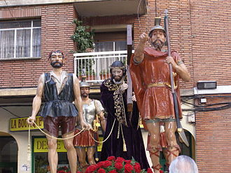 Holy Week in Zamora - El CInco de Copas on Tres Cruces Avenue, Good Friday