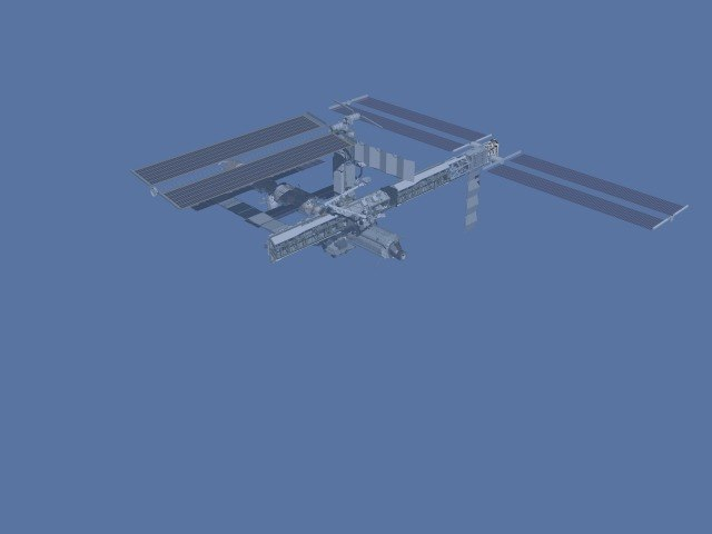 assembly of the international space station howling pixel