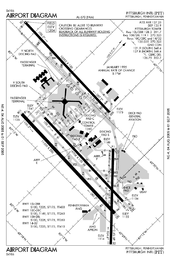 map of pittsburgh airport Pittsburgh International Airport Wikipedia map of pittsburgh airport
