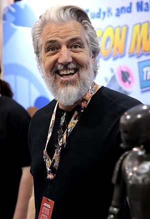 PJ Haarsma - Haarsma at the 2017 Phoenix Comicon, promoting Con Man