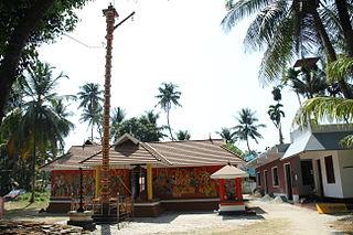 Poonithura Village in Kerala, India