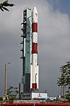 PSLV-C44 at First Launch Pad SDSC SHAR Sriharikota 12.jpg