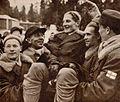 Paavo Lonkila, Tapio Mäkelä, Veli Saarinen, Urpo Korhonen, Heikki Hasu 1952b.jpg