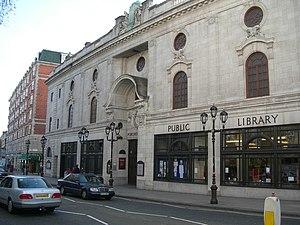 Porchester Hall - Paddington Library, Porchester Hall, 2007
