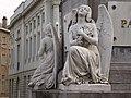 Pairs of angels, sculptures; Martyrs' Square - Place des Martyrs - Martelaarsplaats 1 (4040194506).jpg