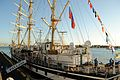 Pallada Tall Ship @ Honolulu Harbor (6225680542).jpg